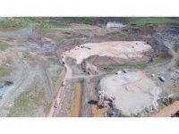 Musabeyli Barajında Çalışmalar hızla ilerliyor