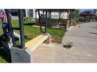 Yenişehir Belediyesi park bakım ve onarım çalışmalarına hız verdi