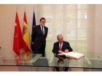 Başbakan Yıldırım, İspanya Başbakanı Rajoy ile görüştü