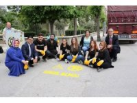 Duyarsız sürücülere karşı 'Yoluma Engel Olma' projesi