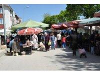 Bozüyük halk pazarında son gün