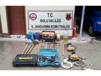 Bolu'da, kaçak kazı operasyonu: 6 gözaltı