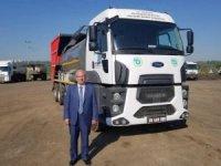 Büyükşehir Belediyesi araç filosuna asfalt kombine aracı ekledi