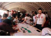 Savaşın çocuklarına sosyo psikolojik destek