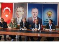 AK Partili Ülgen Basın Toplantısı Düzenledi