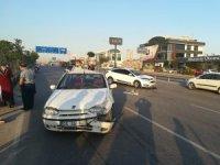 Kocaeli'de arızalanan otomobil kazaya sebep oldu: 1 yaralı