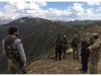 Kaymakam Özkan'dan karakol ve üs bölgesi ziyareti