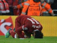 Liverpool finalin kapısını Salah ile araladı