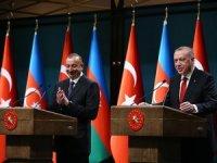 Cumhurbaşkanı Erdoğan: Azerbaycan'la yeni projeleri hayata geçireceğiz
