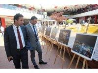 Çanakkale'de 'Şehrin Işıkları' sergilendi