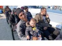 Çanakkale'de 39 kaçak mülteci yakalandı