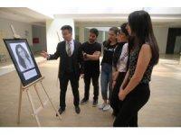 PAÜ'de 'Bilim İçinde Sanat' sergisi açıldı