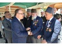 Kıbrıs gazisi Muharrem Ağduk son yolculuğuna askeri törenle uğurlandı