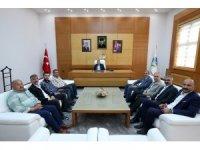 Başkan Toçoğlu esnaflarla bir araya geldi