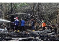 Endonezya'da petrol kuyusunda yangın: 21 ölü