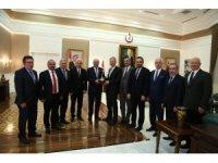 ATO yönetiminden Sağlık Bakanı Demircan'a ziyaret