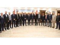Sağlık Bakan Yardımcısı Öğütken'den Başkan Atilla'ya Ziyaret