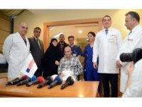 22 aydır tedavi gören 15 Temmuz Gazisi Mehmet Yaman taburcu oldu