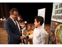 Sanko okulları resim yarışmasından ödülle döndü