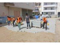 Turgutlu'da sokak çalışmaları sürüyor