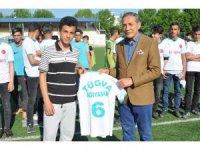 TÜGVA Liselerarası Futbol Turnuvası başladı