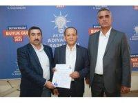 Osman Özet AK Parti'ye aday adaylığı başvurusu yaptı