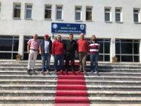 İl Jandarma Komutanlığına ziyaret