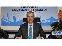 AK Parti Adıyaman İl Başkanı istifa etti
