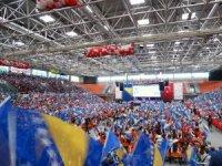 Bosna Hersek'te Türkiye sevdalısı 6 bin öğrenci Çocuk Şenliği'nde buluştu