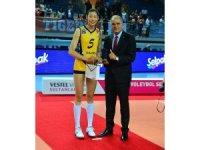 Vestel Venus Sultanlar Ligi Final serisinin MVP'si Ting Zhu