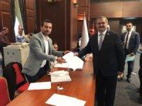 Milletvekili Çaturoğlu aday adaylığı müracaatını yaptı