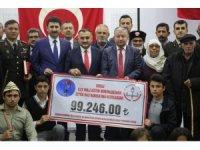Türk Silahlı Kuvvetleri Güçlendirme Vakfı'ndan Develi İlçe Milli Eğitim Müdürlüğü'ne Altın Madalya Beratı