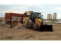 Kayseri'de ele geçirilen 14 ton kaçak sakatat imha edildi