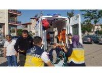 Kula'da yine motosiklet kazası: 1 yaralı