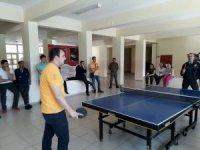 Şaphane'de Masa Tenisi Turnuvası