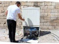 Kaçak elektriği önleyen panolara saldırılar devam ediyor
