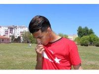 Afgan gencin hayali Türk Milli Takımı'nda oynamak
