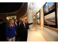Başkan Yaşar, AFSAD'ın sergi açılışını yaptı