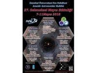 Amatör Astronomlar Kulübü'nün Mayıs etkinliği İstanbul Üniversitesi'nde gerçekleşecek