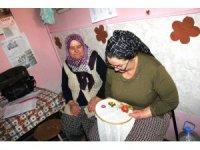 Kursiyerlerden, şehit ve gazi annelerine destek