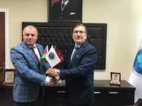 Başkan Gülbey, Prof. Dr. Akbaş'ı ziyaret etti