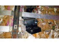 Gaziantep'te 20 bin 100 paket kaçak sigara ele geçirildi