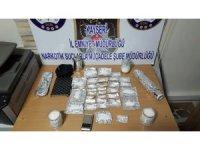 Uyuşturucular saksıdan çıktı