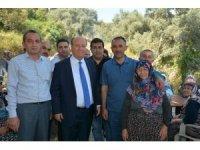 Başkan Özakca,n Dalama Mahallesindeki 30 yıllık yemek hayrına katıldı