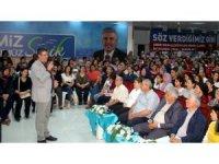 Serik'te aile içi iletişim konferansı