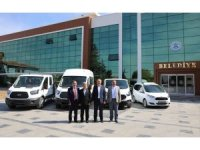 Suluova Belediyesine 4 yeni araç
