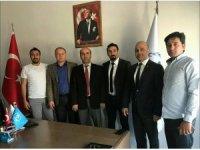 Başkan Gülbey, müdür Dursun'u ziyaret etti