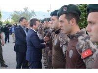 Afrin'den dönen polisler karşılandı