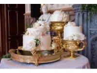 Yılın çiftinin düğün pastası Claire Ptak'dan
