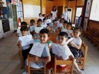 Antalya'da miniklere hijyen eğitimi